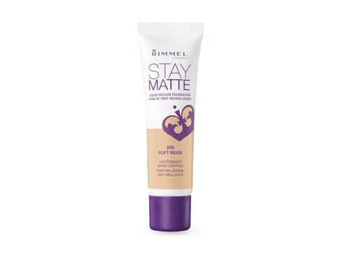 Rimmel London Stay Matte Liquid Mousse Foundation 30 ml makeup 300 Sand pro ženy