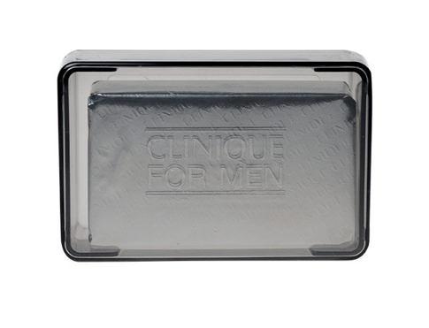 Clinique For Men Face Soap With Dish 150 g čisticí mýdlo pro muže