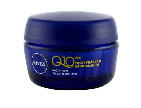 Nivea Q10 Plus 50 ml noční pleťový krém pro ženy
