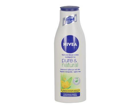 Nivea Pure & Natural 250 ml tělové mléko pro ženy