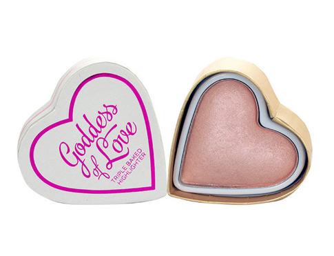 Makeup Revolution London I Heart Makeup Goddess Of Love 10 g rozjasňovač Goddess Of Love pro ženy