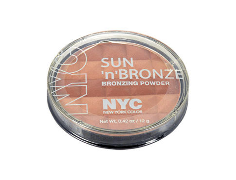 Pudr NYC New York Color Sun N Bronze Bronzing Powder 12 g 708 Coney Island Glow