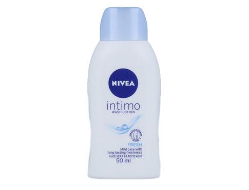 Nivea Intimo Intimate Wash Lotion Fresh 50 ml intimní kosmetika pro ženy
