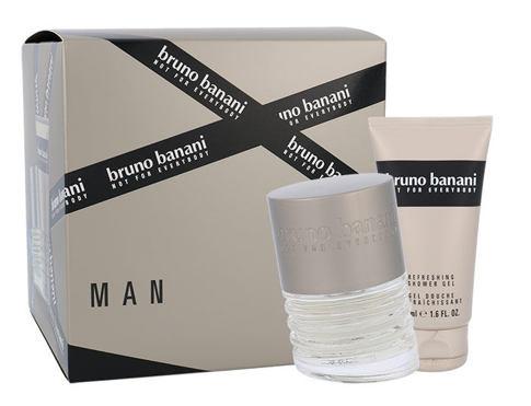 Bruno Banani Man EDT dárková sada pro muže - EDT 30 ml + sprchový gel 50 ml