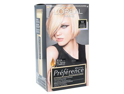 L´Oréal Paris Préférence Récital 1 ks barva na vlasy 92 pro ženy