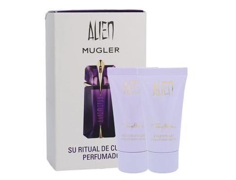 Thierry Mugler Alien tělové mléko dárková sada pro ženy - tělové mléko 30 ml + sprchový gel 30 ml