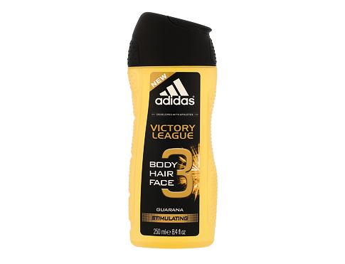Sprchový gel Adidas Victory League 3in1 250 ml