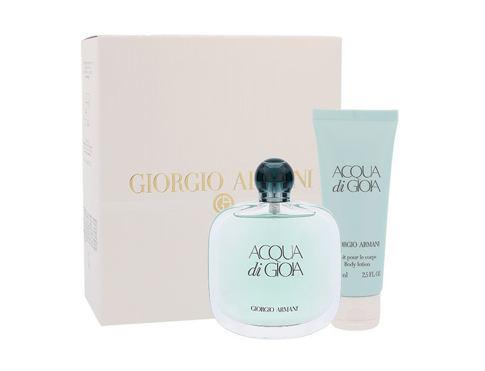 Giorgio Armani Acqua di Gioia EDP dárková sada pro ženy - EDP 100 ml + tělové mléko 75 ml