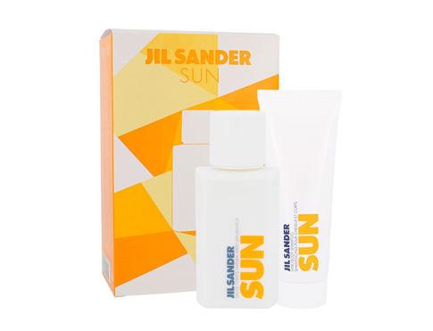 Jil Sander Sun EDT dárková sada pro ženy - EDT 75 ml + sprchový gel 75 ml