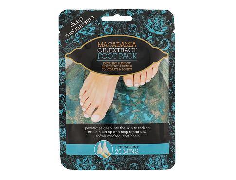 Xpel Macadamia Oil Extract Foot Pack 1 ks krém na nohy pro ženy
