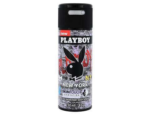 Playboy New York For Him 150 ml deodorant Deospray pro muže