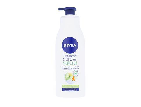 Nivea Pure & Natural 400 ml tělové mléko pro ženy