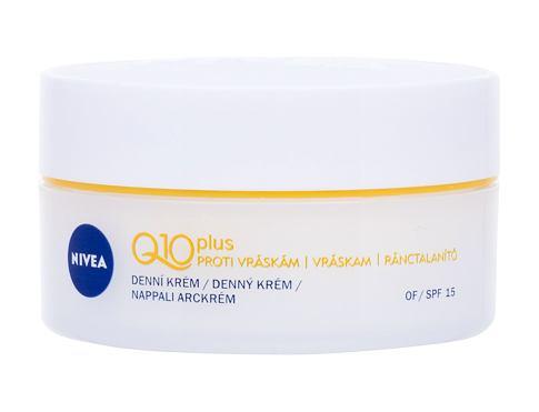 Nivea Q10 Plus SPF15 50 ml denní pleťový krém pro ženy