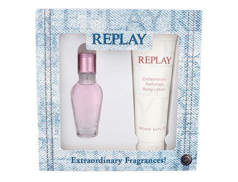 Replay Jeans Spirit! For Her EDT dárková sada pro ženy - EDT 20 ml + tělové mléko 100 ml