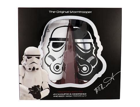 Star Wars Stormtrooper šampon dárková sada unisex - šampon 2 v 1 150 ml + sprchový gel 150 ml