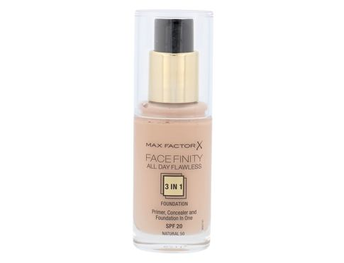 Max Factor Facefinity All Day Flawless 3in1 SPF20 30 ml makeup 50 Natural pro ženy