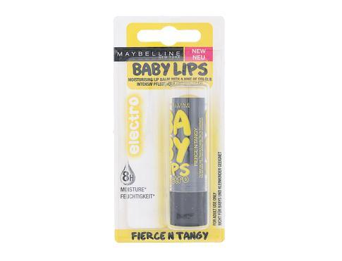 Maybelline Baby Lips Electro 4,4 g balzám na rty Fierce N Tangy pro ženy