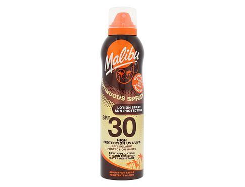 Malibu Continuous Spray SPF30 175 ml opalovací přípravek na tělo voděodolná pro ženy
