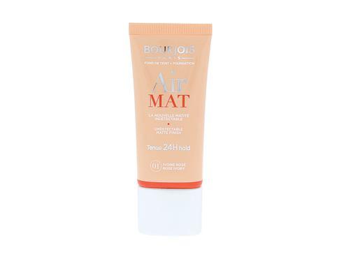 BOURJOIS Paris Air Mat SPF10 30 ml makeup 01 Rose Ivory pro ženy