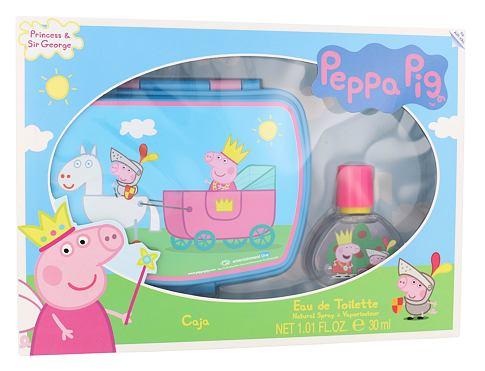 Peppa Pig Peppa EDT dárková sada unisex - EDT 30 ml + svačinový box