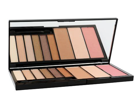 Makeup Revolution London Euphoria Palette Eyeshades & Contouring 18 g dekorativní kazeta Bronzed pro ženy