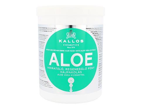 Kallos Cosmetics Aloe Vera 1000 ml maska na vlasy pro ženy