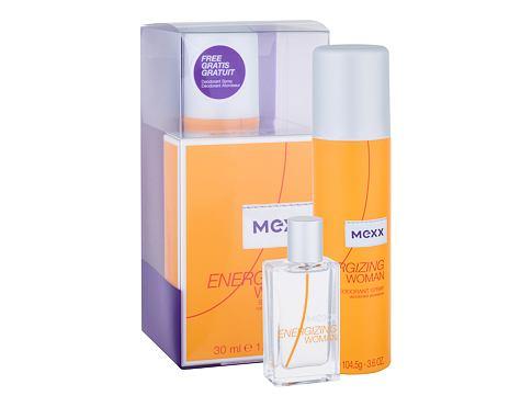 Mexx Energizing Woman EDT dárková sada pro ženy - EDT 30 ml + deodorant 150 ml