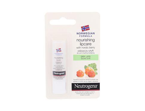 Neutrogena Norwegian Formula Nourishing Nordic Berry 4,9 g balzám na rty pro ženy