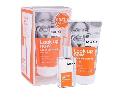 Mexx Look up Now Life Is Surprising For Her EDT dárková sada pro ženy - EDT 30 ml + tělové mléko 150 ml