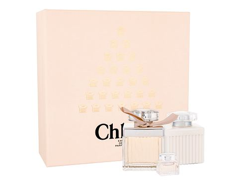 Chloe Chloe EDP dárková sada pro ženy - EDP 75 ml + tělové mléko 100 ml + EDP 5 ml