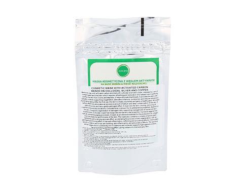 Ecocera Activated Carbon 50 g pleťová maska pro ženy