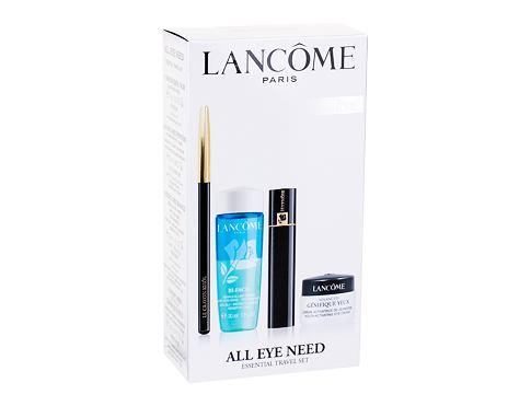 Lancome Le Crayon Khol tužka na oči dárková sada Black pro ženy - tužka na oči Le Crayon Khol 1,14 g + řasenka Hypnose 2 ml 01 Black + odličovač očí Bi-Facil 30 ml + péče o oční okolí Advanced Génifique Yeux 5 ml
