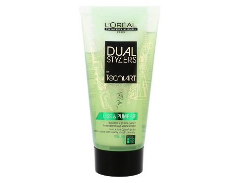 Gel na vlasy L´Oréal Professionnel Dual Stylers Liss & Pump-Up 150 ml