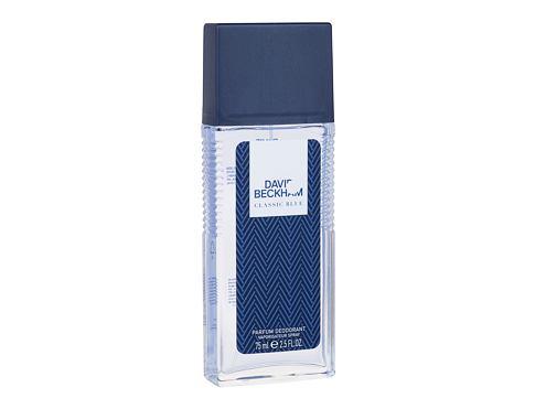 David Beckham Classic Blue 75 ml deodorant Deospray pro muže