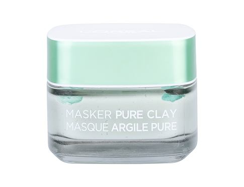 Pleťová maska L´Oréal Paris Pure Clay Purity Mask 50 ml