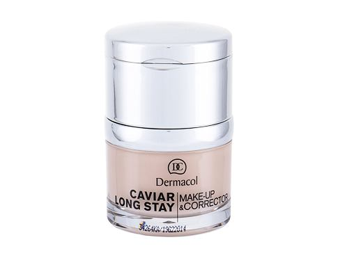 Make-up Dermacol Caviar Long Stay Make-Up & Corrector 30 ml 1 Pale