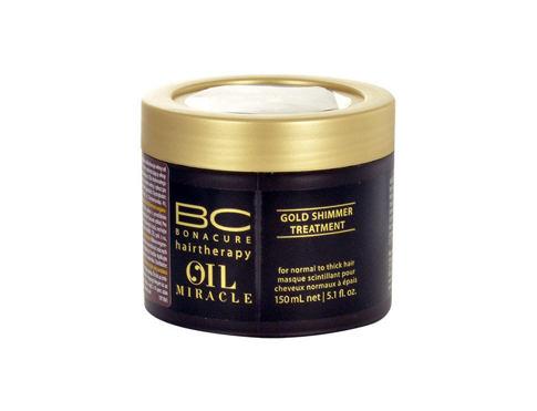 Schwarzkopf BC Bonacure Oil Miracle Gold Shimmer Treatment 150 ml maska na vlasy pro ženy