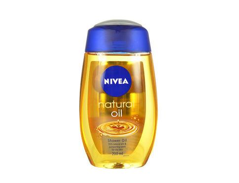 Nivea Natural Oil 200 ml sprchový olej pro ženy