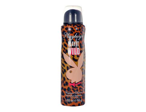 Playboy Play It Wild For Her 150 ml deodorant Deospray pro ženy