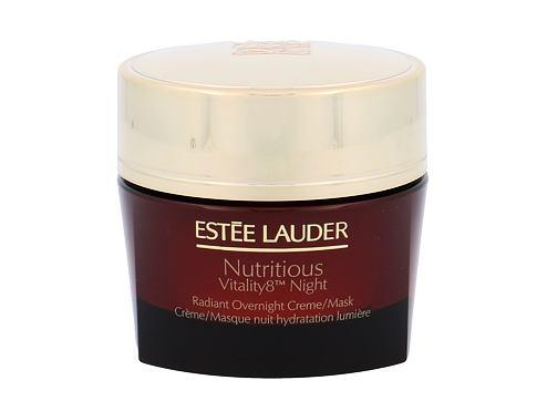 Estée Lauder Nutritious Vitality8 Night Radiant Overnight Creme/Mask 50 ml noční pleťový krém pro ženy