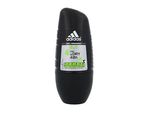 Adidas 6in1 Cool & Dry 48h 50 ml antiperspirant Roll-on pro muže
