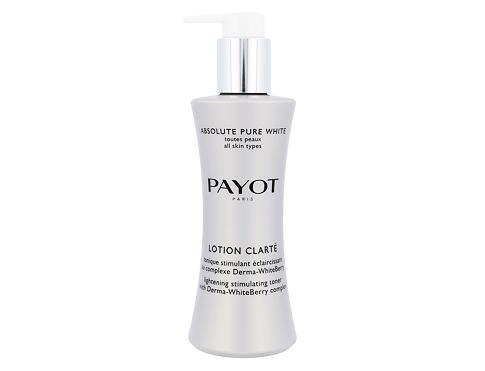 PAYOT Absolute Pure White Lotion Clarte Lighening Toner 200 ml čisticí voda pro ženy