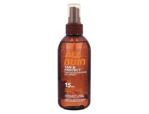 PIZ BUIN Tan & Protect Tan Accelerating Oil Spray SPF15 150 ml opalovací přípravek na tělo p