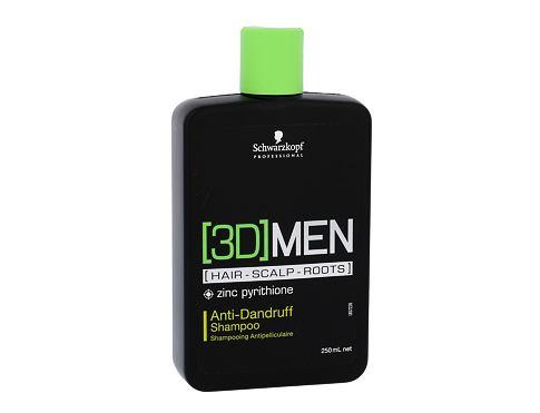 Schwarzkopf 3DMEN 250 ml šampon pro muže