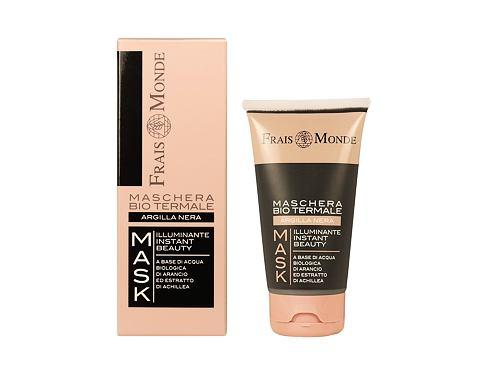 Frais Monde Organic Spa Mask Black Clay 75 pleťová maska pro ženy