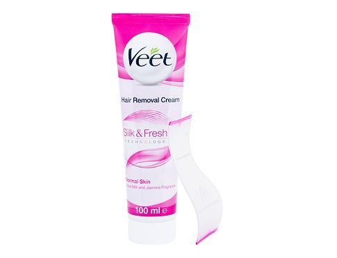Veet Silk & Fresh Normal Skin 100 ml krém na holení pro ženy