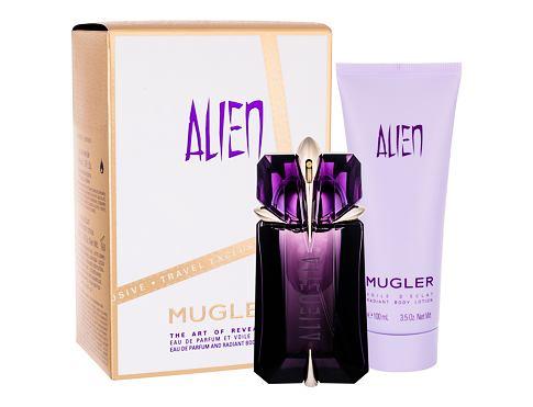 Thierry Mugler Alien EDP dárková sada pro ženy - EDP 60 ml + tělové mléko 100 ml