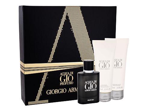 Giorgio Armani Acqua di Gio Profumo EDP dárková sada pro muže - EDP 40 ml + sprchový gel Acqua di Gio 75 ml + balzám po holení Acqua di Gio 75 ml