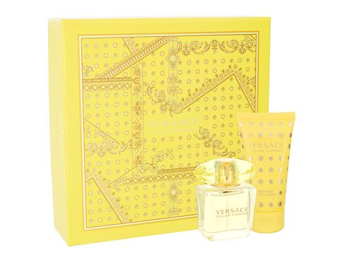 Versace Yellow Diamond EDT dárková sada pro ženy - EDT 30 ml + tělové mléko 50 ml