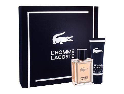 Lacoste L´Homme Lacoste EDT dárková sada pro muže - EDT 50 ml + sprchový gel 50 ml